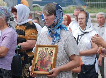 «Русское молоко» молилось о ниспослании дождя