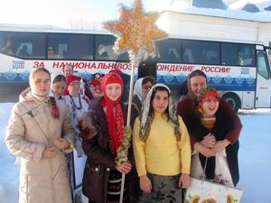 Ученики и преподаватели Рузской воскресной школы