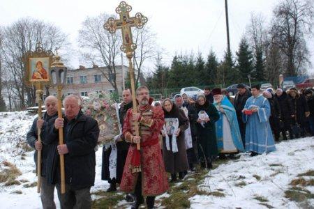 Престольный праздник В Аннино.